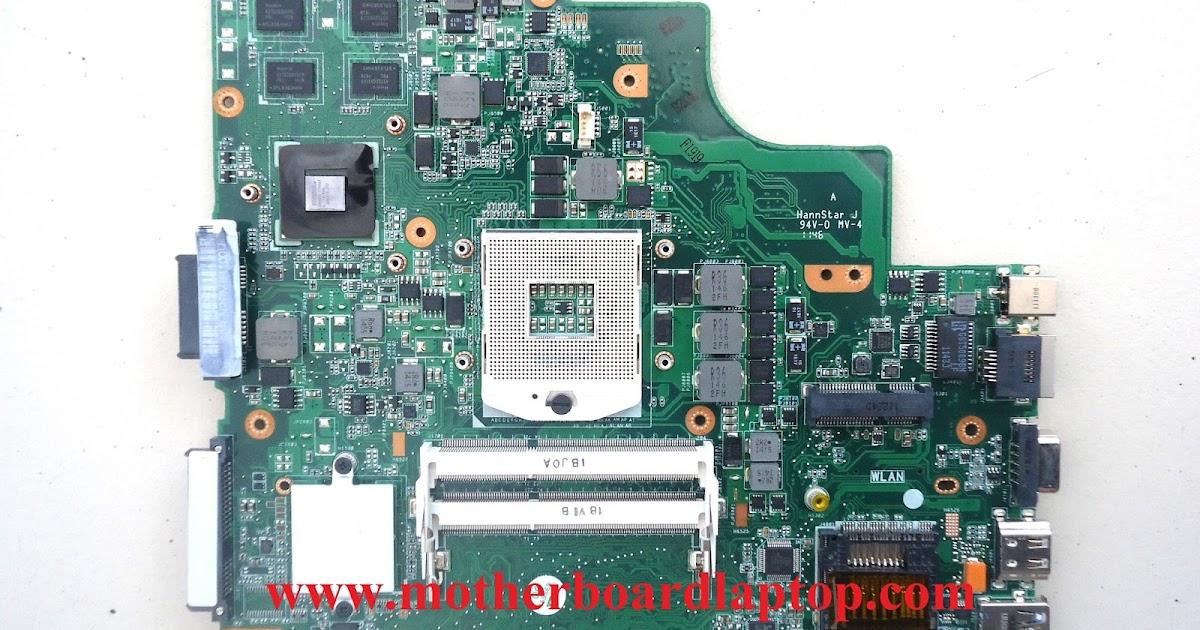 Motherboard Laptop Asus K43sd Nvidia New