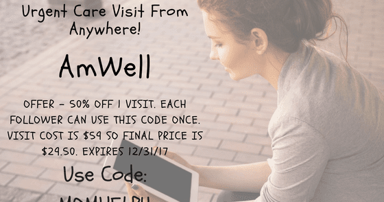 Amwell coupon code 2019