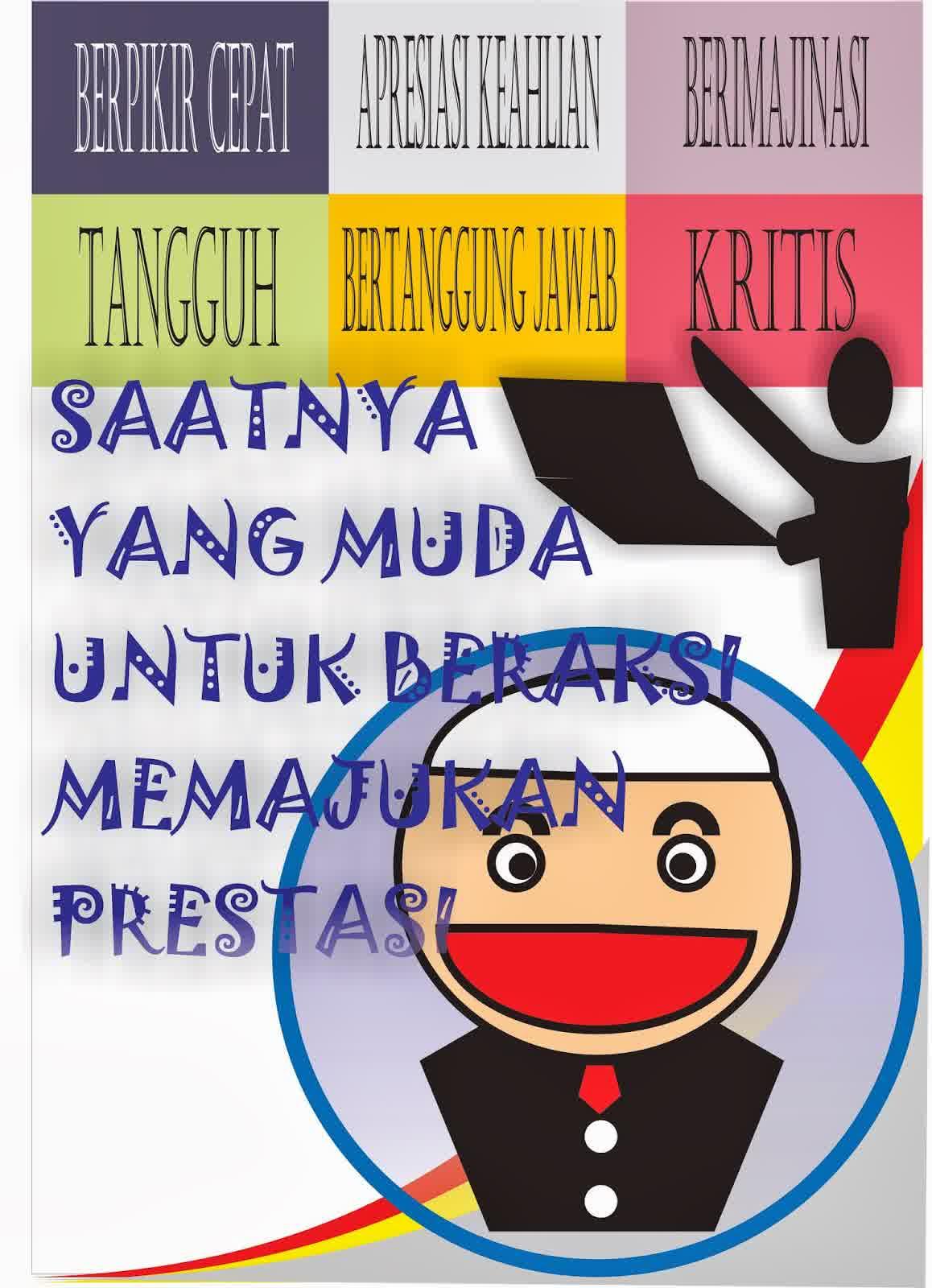 Contoh Gambar Slogan Pendidikan Materi Pelajaran 10