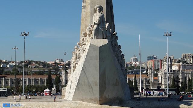 Lisbona, monumento alle scoperte - Enrico il Navigatore - Henrique le Navegante
