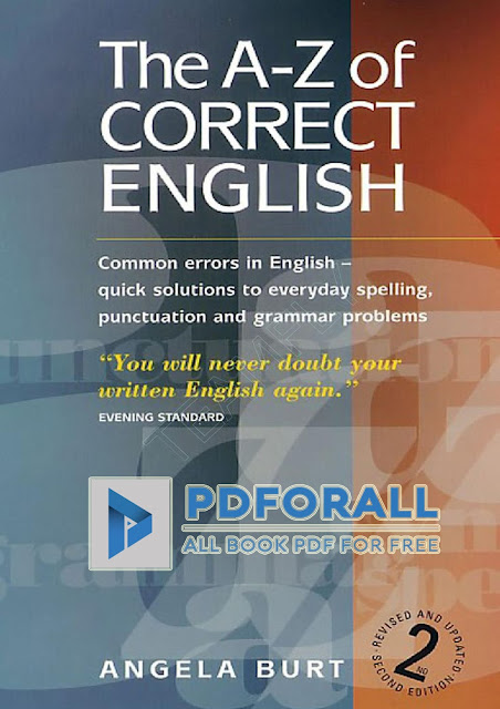 The A-Z of correct English PDF