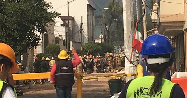 La GAM aclara que el equipo chileno no ha participado en el rescate de personas en Lindavista