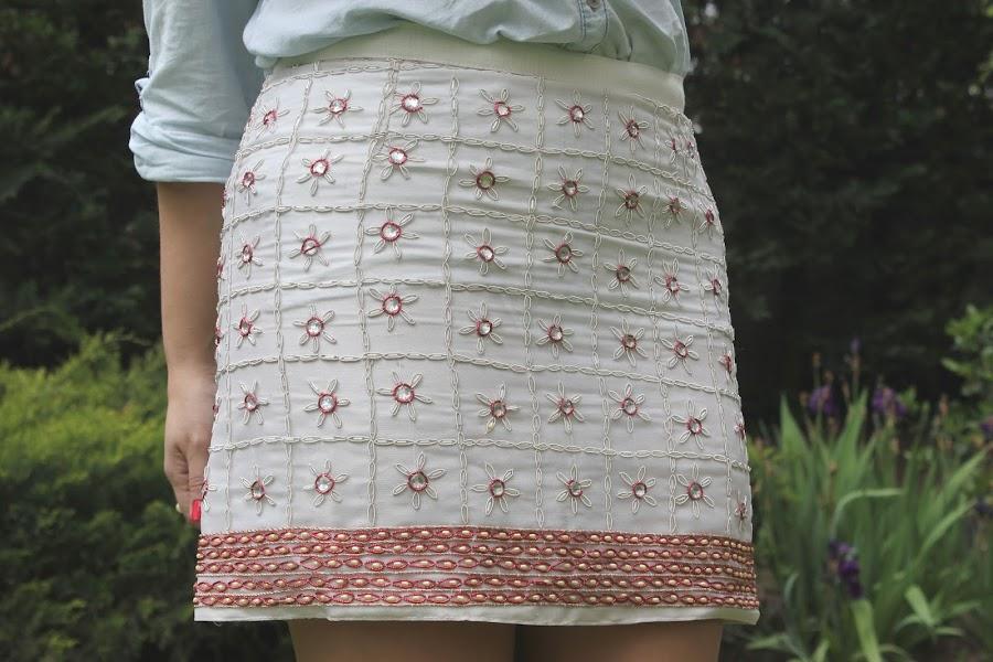 Aprender a coser faldas parte 6: la cintura de la falda.