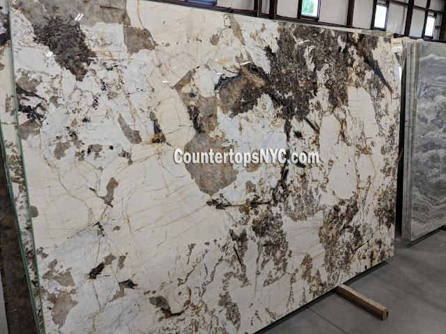 Blanc du Blanc Granite Slabs For Kitchen Countertops