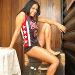 Andrea Rincon, Selena Spice Galeria 27 : Camiseta Basket, Cachetero Negro Foto 19
