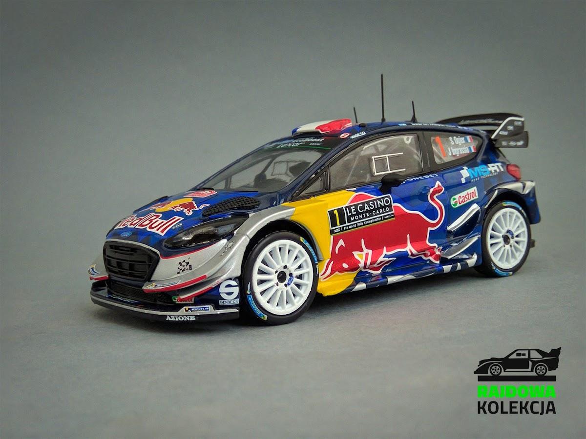 IXO RAM641 Ford Fiesta RS WRC'17, Zwycięzca Rajdu Monte-Carlo 2017