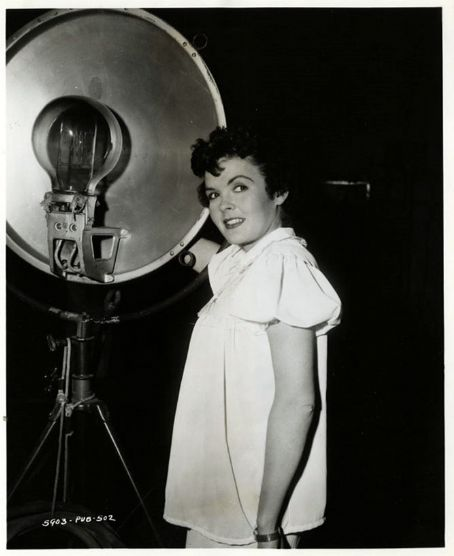 Darla Hood of The Little Rascals as an adult