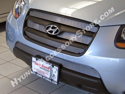 http://www.hyundaiaccessorystore.com/Hyundai_Santa_Fe_Grille.html