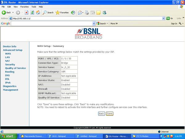 Bsnl modem dna-a201bei usb