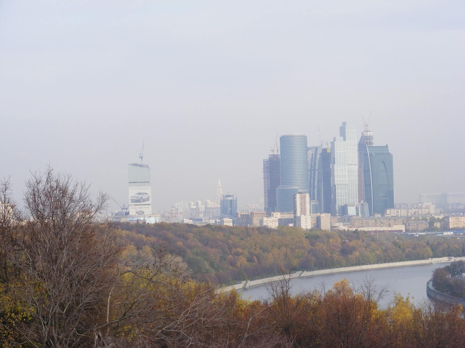 Moskwa, WOROBJOWYE GORY (Wzgórza)