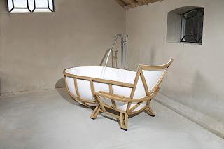 diseño de bañera muy creativa