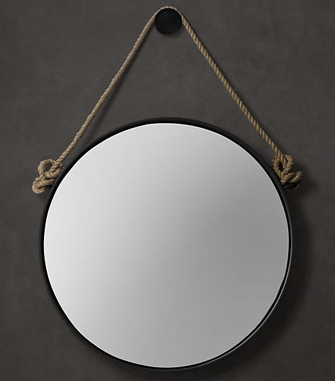 in search of the perfect round mirror driven by decor. Black Bedroom Furniture Sets. Home Design Ideas