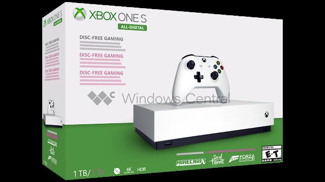 Слух: Новый Xbox One без привода для дисков поступит в продажу в мае, первое фото