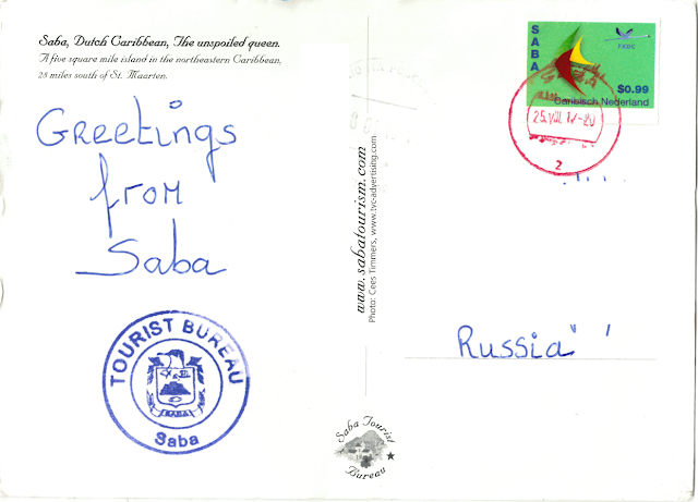 stamps from Saba