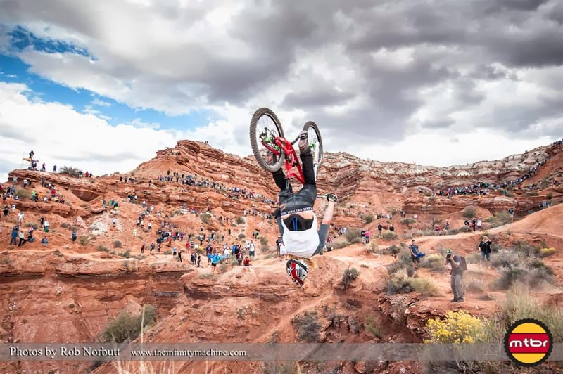 Kelly McGarry, mountain bike, backflip, Redbull Rampage 2013