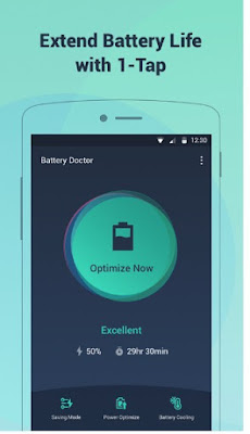BATTERY DOCTOR APK FOR ANDROID | BATTERY LIFE SAVER & BATTERY COOLER