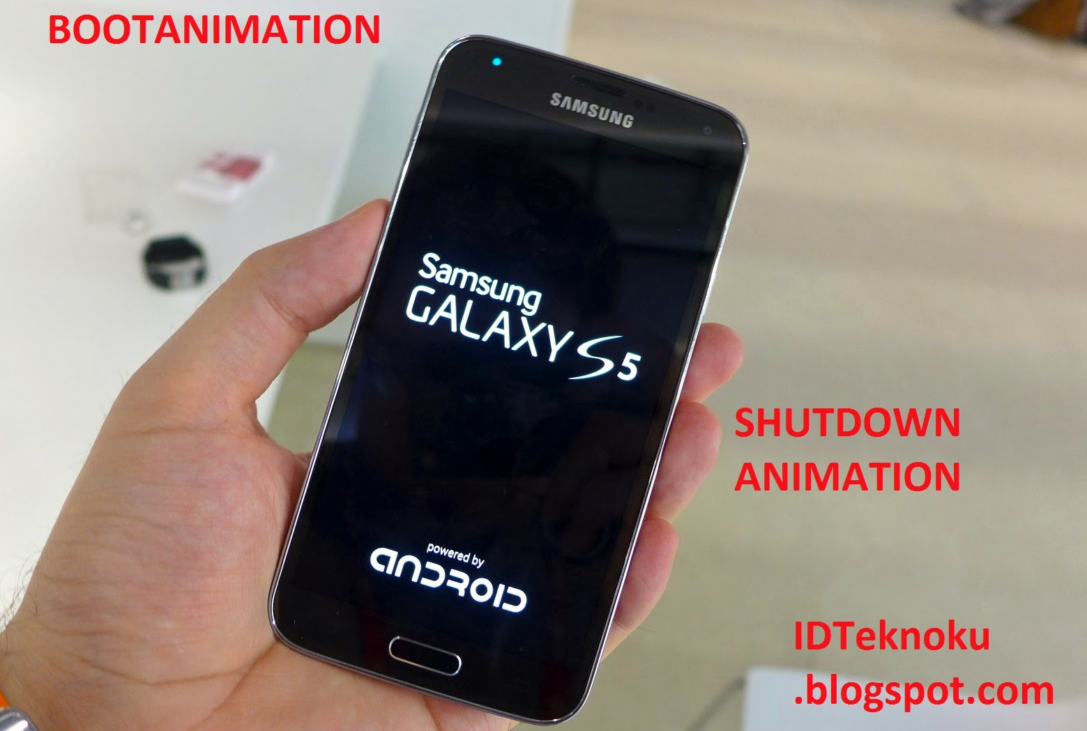 Bootanimation Samsung Galaxy S5 for All Devices