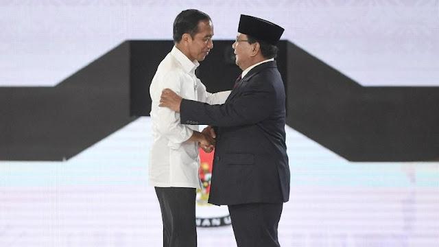 Data KawalPemilu 5,71%: Jokowi 49,7% Prabowo 50,2%