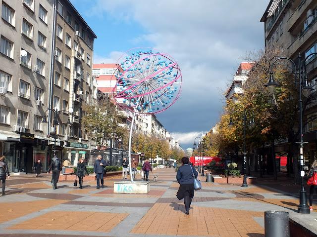 visitar el centro de Sofia en un día
