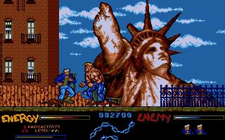 Pantallazo After the War - versión Atari ST