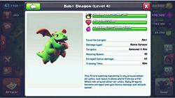 Kekuatan Pasukan Baru COC, Baby Dragon & Miner