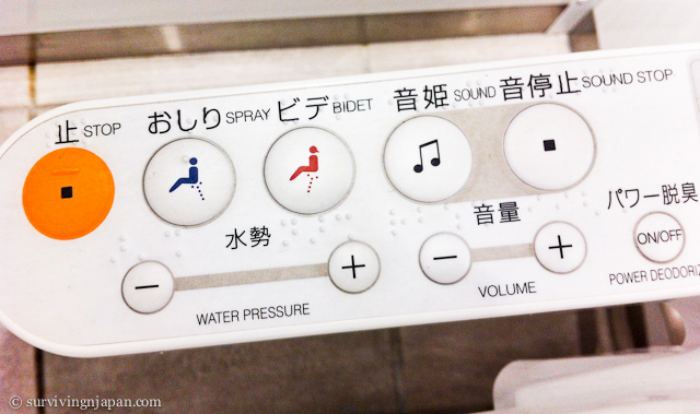 How To Use An Electronic Japanese Toilet Surviving In