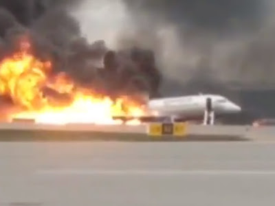 Russian Plane Made An Emergency Landing