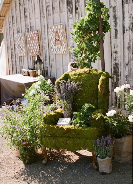La chica del malet n saca los muebles al jardin - Decorar jardin barato ...