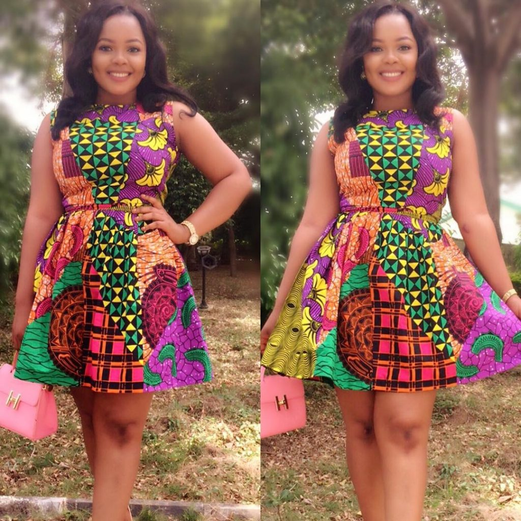 Check Out These Creative Ankara Mix Styles For Cute Ladies; Gowns ...