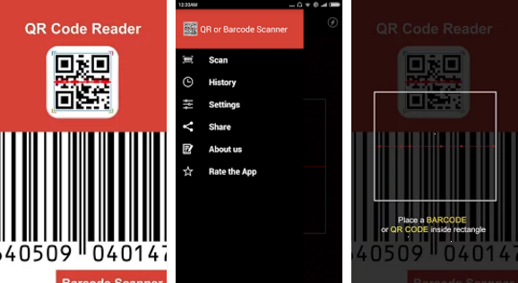Qr code reader for android free download