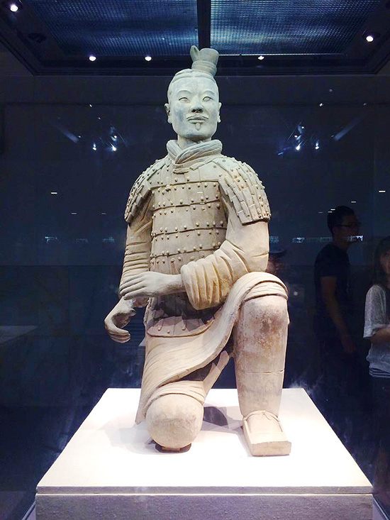 Kneeling Archer, Terracotta Army