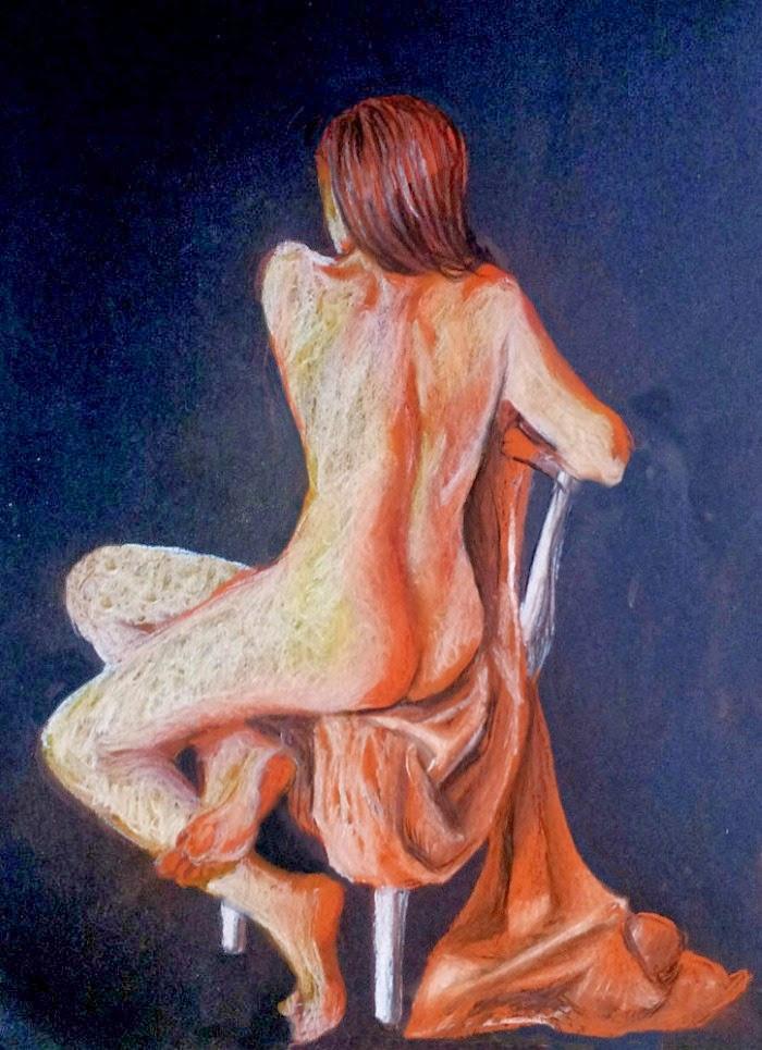 Работы карандашом, акварелью и пастелью. Arti Chauhan