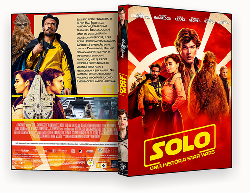 DVD-R Han Solo Uma Historia Star Wars – AUTORADO