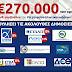 270.000 ευρώ η θυγατέρα της πρώην βουλευτή της ΔΗΜΑΡ και του ΣΥΝ/ΣΥΡΙΖΑ παλαιότερα, Μίνας Ξηροτύρη....