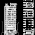 مشروع مجسم بنك شنقهاي - هونكونق اوتوكاد  dxf