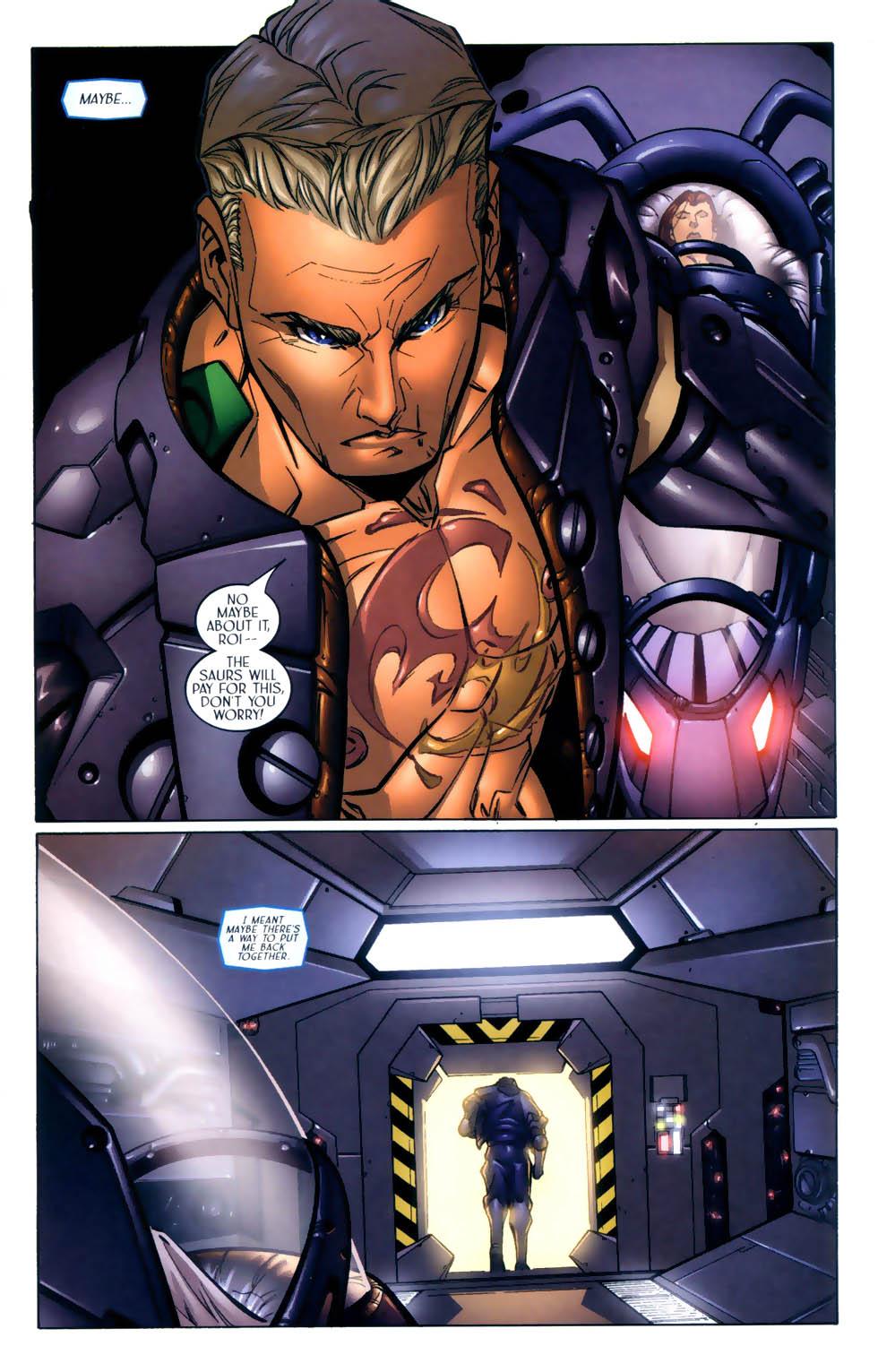 Read online Sigil (2000) comic -  Issue #2 - 18