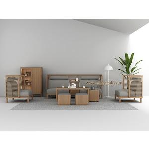 Set Kursi Sofa Tamu Jati Minimalis 311 + Meja Larizo