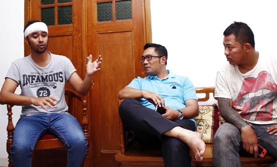 Dituduh Pukul Sopir Angkot, Begini Jawaban Ridwan Kamil