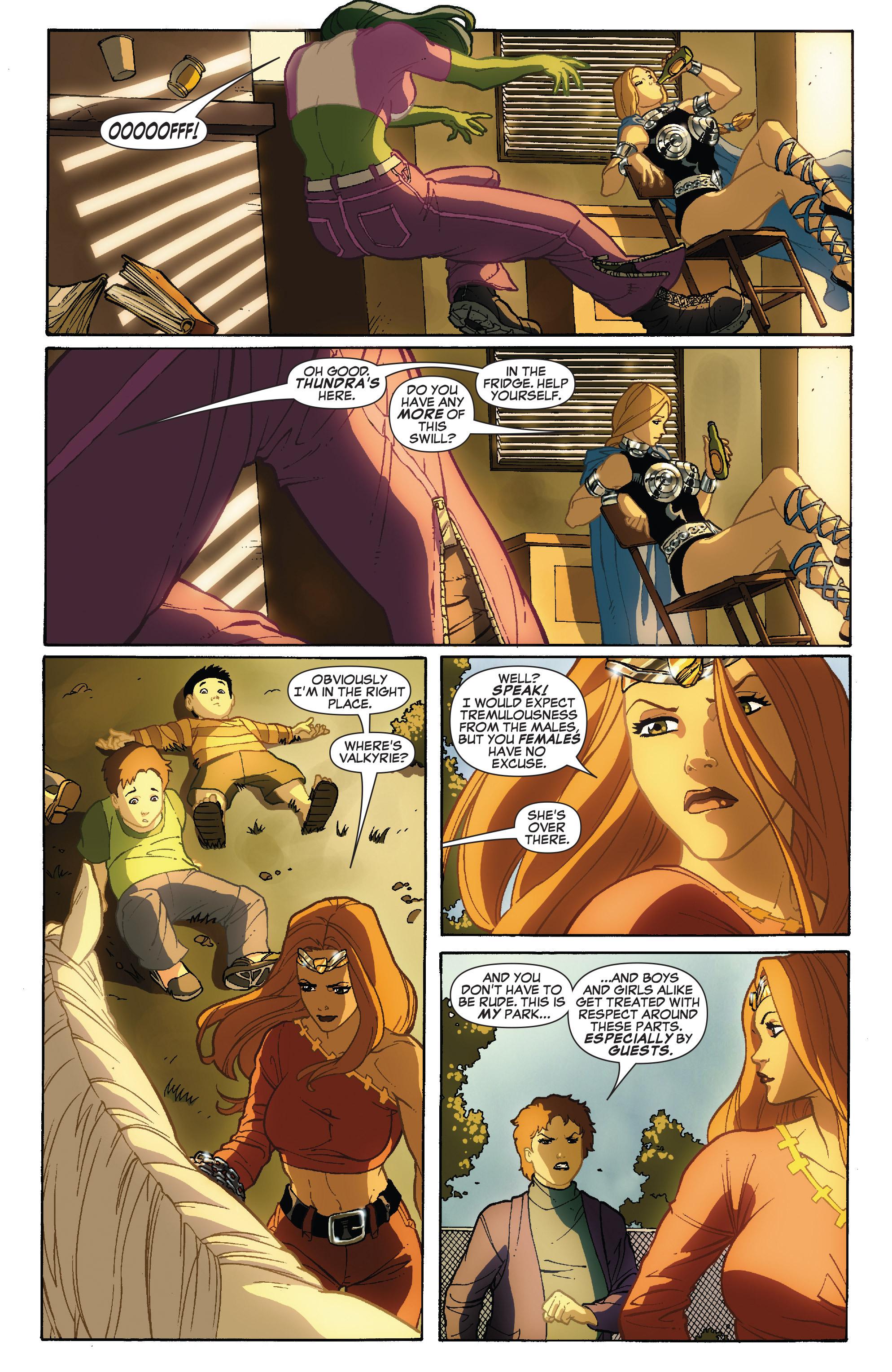 Read online She-Hulk (2005) comic -  Issue #34 - 12
