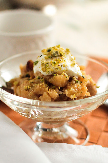 Sweet, Delicious Apple Halwa
