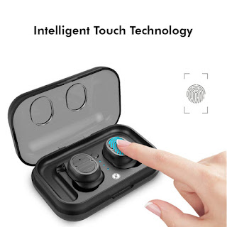 in-Ear Touch Control True Wireless Bluetooth Headphones (TWS) with Mic
