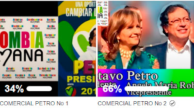 Abra su Facebook y vote