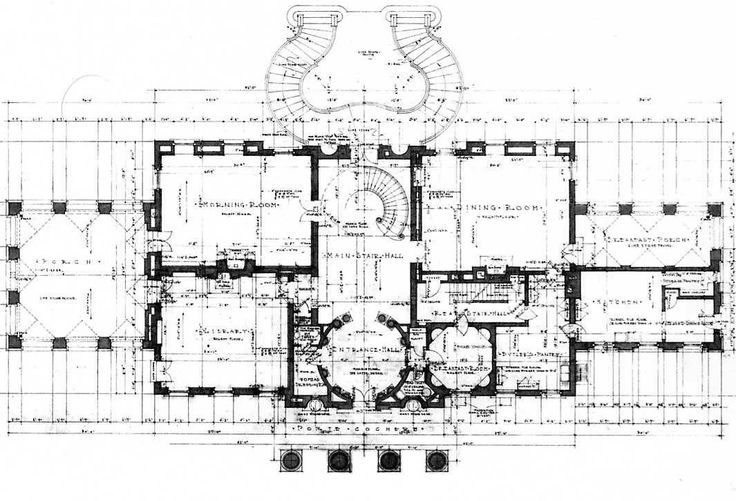 Architect design swan house a visit to atlanta to see for Atlanta house plans