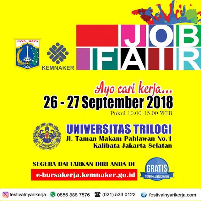 Job Fair Kemnaker Jakarta 2018