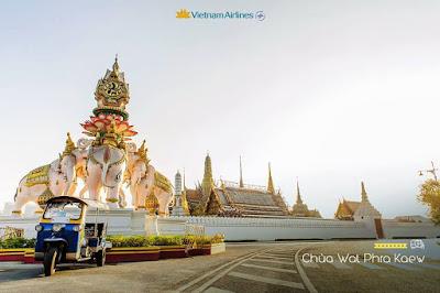 Giá vé đặc biệt Hà Nội - Bangkok của Vietnam Airlines