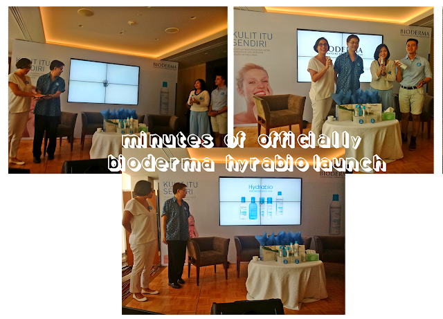 event Launching Bioderma Hydrabio Brume