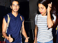 Jhanvi Kapoor and Ishaan Khattar   The Dhadak Movie Pair Spotted Dining Together ~  Exclusive Galleries 003.jpg