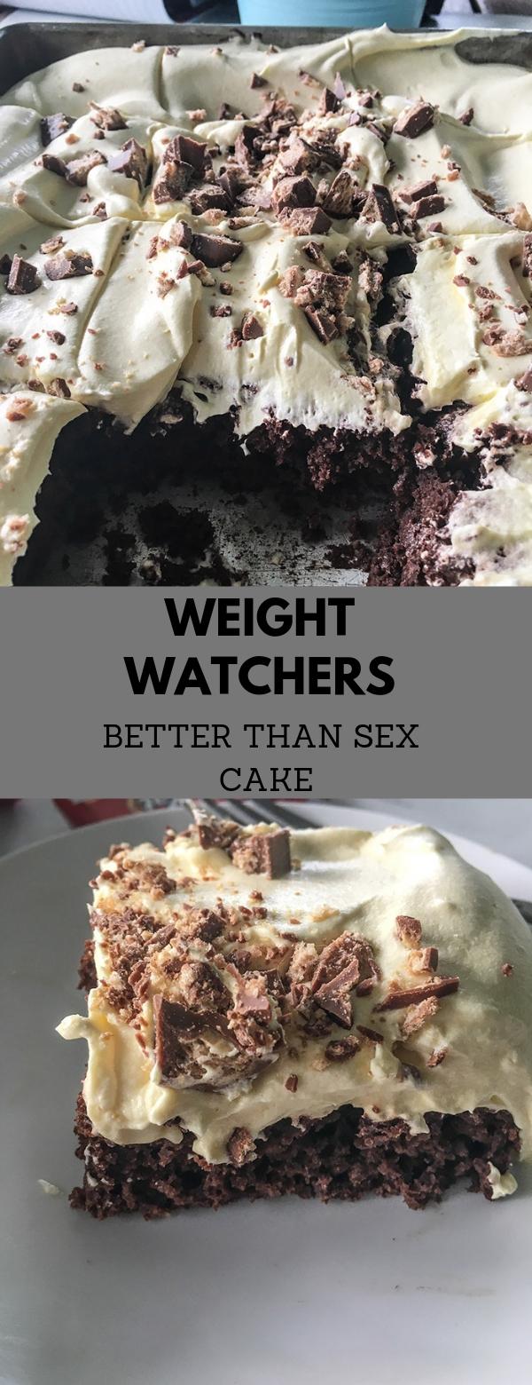 WEIGHT WATCHERS – BETTER THAN SEX CAKE #cake #dessert #weightwatchers