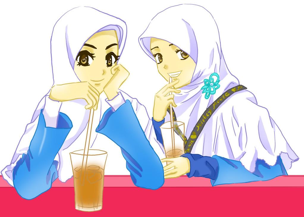 Gambar Kartun Muslimah Sahabat Sejati Brad Erva Doce Info