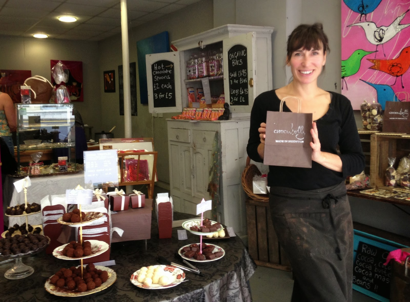 ChocoHolly - Holly Caulfield - Chocolate Workshop Hove